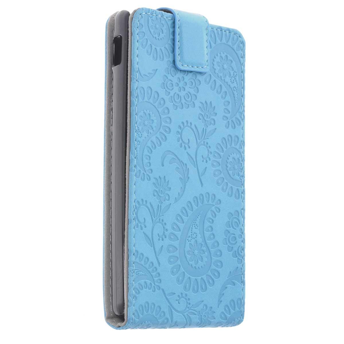 Gissar Paisley чехол для LG Optimus L9 (P765), Blue76054Чехол Gissar Paisley для LG Optimus L9 предназначен для защиты корпуса смартфона от механических повреждений и царапин в процессе эксплуатации. Имеет свободный доступ ко всем разъемам и кнопкам устройства.
