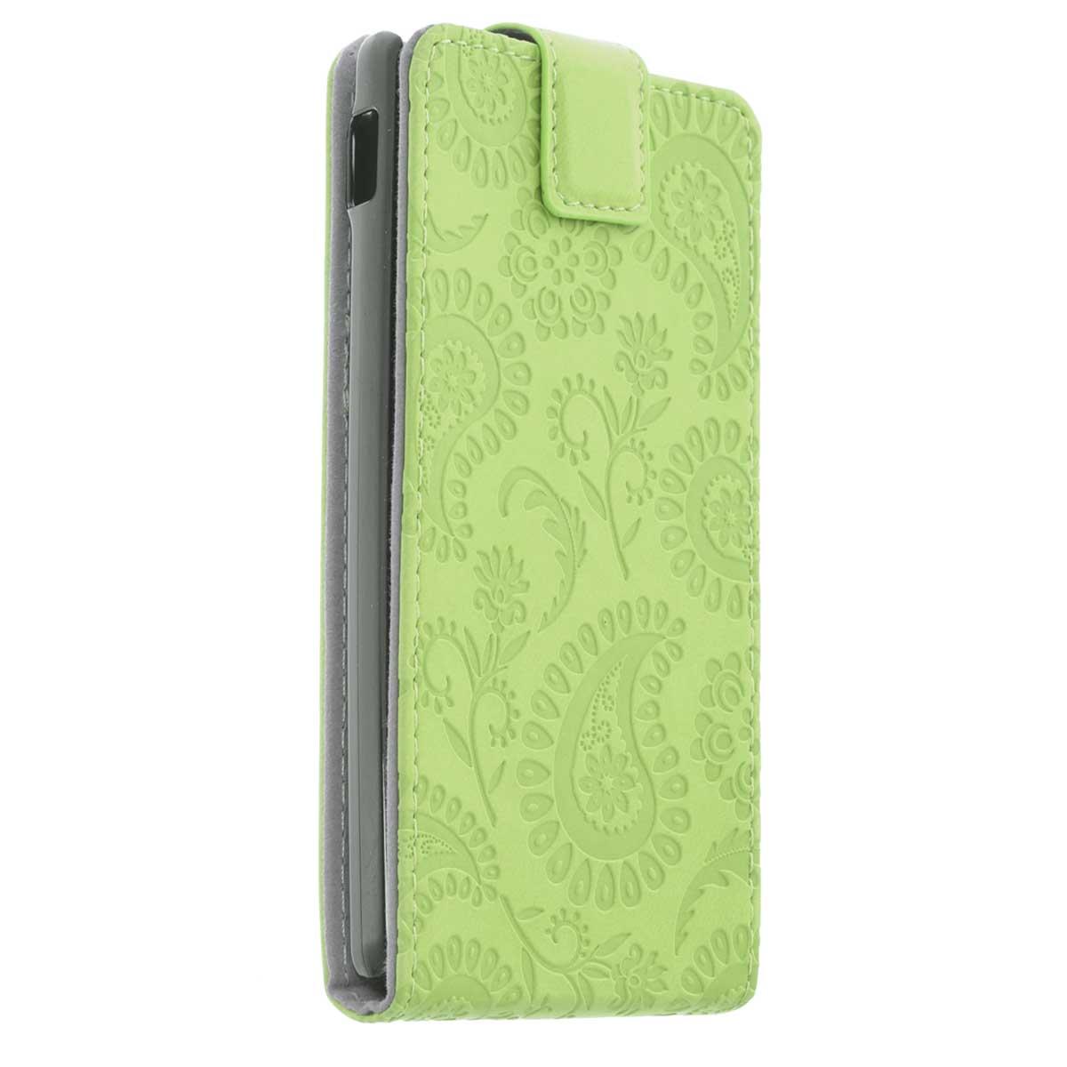 Gissar Paisley чехол для Sony Xperia L, Green31640Чехол Gissar Paisley для Sony Xperia L предназначен для защиты корпуса смартфона от механических повреждений и царапин в процессе эксплуатации. Имеет свободный доступ ко всем разъемам и кнопкам устройства.