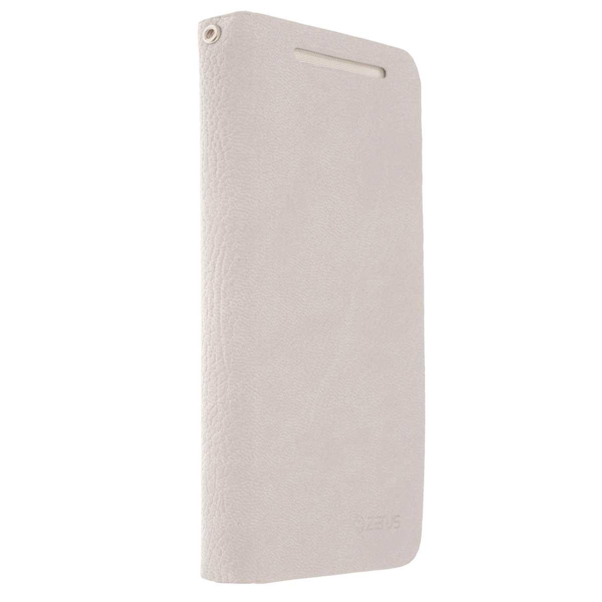 Zenus E-Style чехол для HTC One, Beige760833Zenus E-Style для HTC One - стильный аксессуар, который защитит ваше мобильное устройство от внешних воздействий, грязи, пыли, брызг. Чехол также поможет при ударах и падениях, смягчая удары, не позволяя образовываться на корпусе царапинам и потертостям. Обеспечивает свободный доступ ко всем разъемам и клавишам устройства.