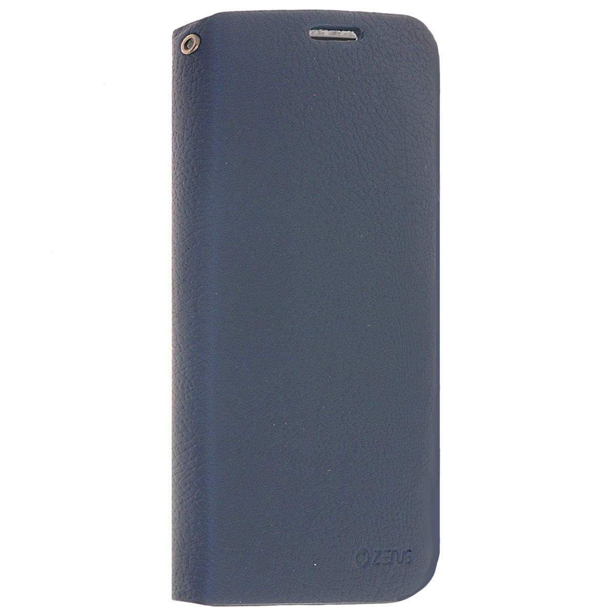 Zenus E-Stand чехол для Samsung Galaxy S4, Blue761793Zenus E-Stand для Samsung Galaxy S4 - стильный аксессуар, который защитит ваше мобильное устройство от внешних воздействий, грязи, пыли, брызг. Чехол также поможет при ударах и падениях, смягчая удары, не позволяя образовываться на корпусе царапинам и потертостям. Обеспечивает свободный доступ ко всем разъемам и клавишам устройства.