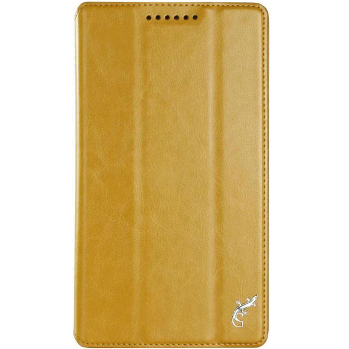 G-Case Executive чехол для Lenovo IdeaTab 2 7.0 (A7-30), OrangeGG-609Чехол G-Case Executive для Lenovo IdeaTab 2 7.0 (A7-30) предохраняет планшет от падений и ударов во время путешествий. Изделие отлично справляется с защитой дисплея и корпуса от царапин, потертостей, пыли, влаги и грязи благодаря плотному прилеганию, а натуральный высококачественный материал амортизирует силу удара при случайном падении. В конструкции чехла оставлены в свободном доступе все необходимые разъемы, порты, кнопки и клавиши. Для съемки видео и фотографий предусмотрено специальное отверстие для камеры. Не думайте, что вместе с обложкой гаджет будет выглядеть громоздким. Тонкая конструкция не увеличивает зрительно размеров планшета. Чехол также выполняет функцию поставки для удобства просмотра фильмов или чтения книг в пути. Трансформация из обложки в подставку происходит благодаря интегрированным подпоркам.