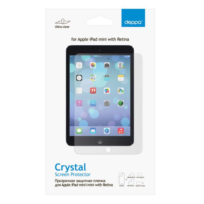 Deppa защитная пленка для Apple iPad mini/mini with Retina, прозрачная