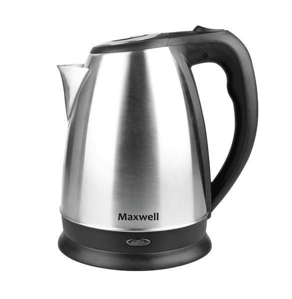 Maxwell MW-1045(ST) электрочайникMW-1045(ST)Безопасность, надежность, удобство и практичность – вот основные критерии, которые характерны для всех моделей чайников торговой марки Maxwell. Данная техника стала обязательным атрибутом современной кухни, позволяя быстро вскипятить воду для чашечки чая или кофе. Электрические чайники Maxwell отличаются своей эргономичностью и стильным дизайном, что позволяет их вписать в интерьер любого кухонного пространства. Электрические чайники торговой марки Maxwell – это большой ассортимент моделей. Среди них вы сможете выбрать вариант, который гармонично будет смотреться на кухне, по объему резервуара соответствовать количеству членов вашей семьи и полностью устраивать вас по функциональности. Среди изобилия моделей предлагаются как самые простые чайники, так и усовершенствованные приборы с наличием дополнительных опций. Среди некоторых особенностей функциональных чайников можно выделить возможность регулировки температуры нагрева воды и заваривания чая непосредственно в...