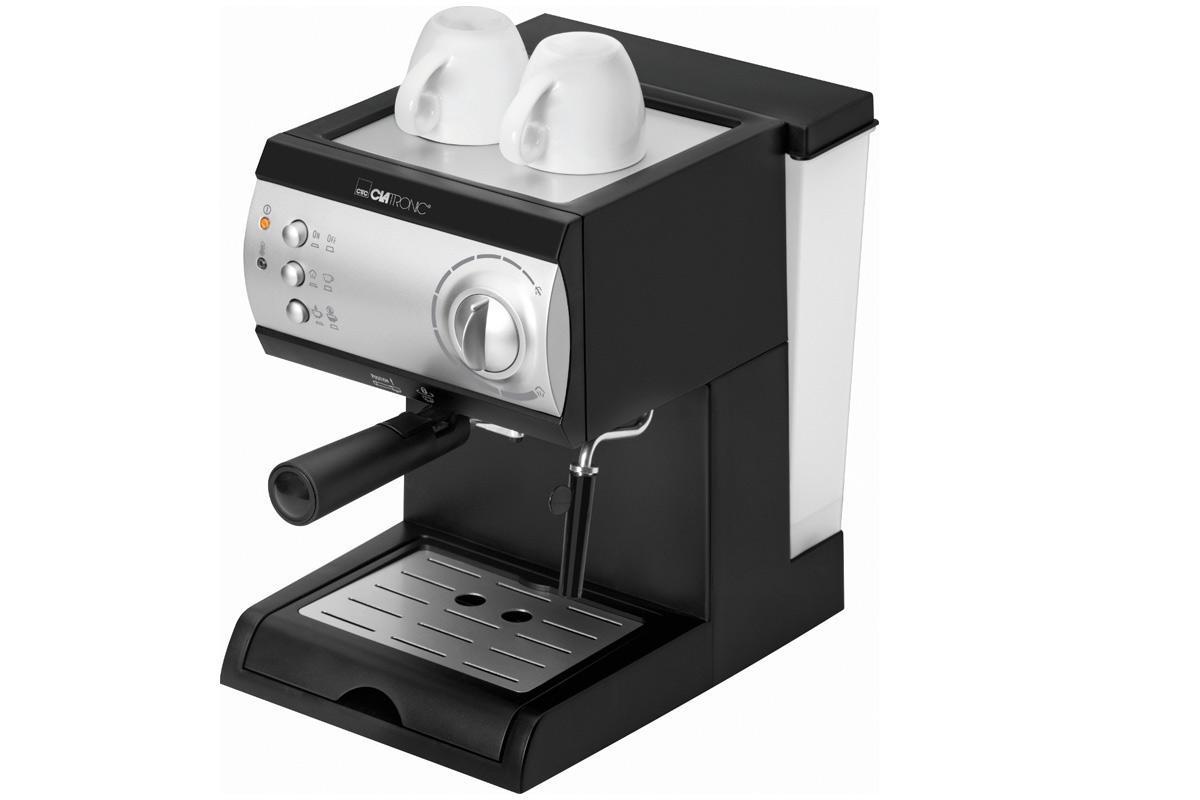 Clatronic ES 3584, Black Silver кофеваркаES 3584 schwarz-silberУтренняя чашка ароматного свежего кофе – это практически незаменимый ежедневный ритуал для множества людей. Clatronic ES 3584 дарит отличную возможность наслаждаться свежеприготовленным ароматным напитком в любое время Стильный эргономичный дизайн кофеварок от CLATRONIC сделает их украшением любой кухни. Конструкционные особенности аппарата позволяют получить свежий кофе, практически не прилагая усилий