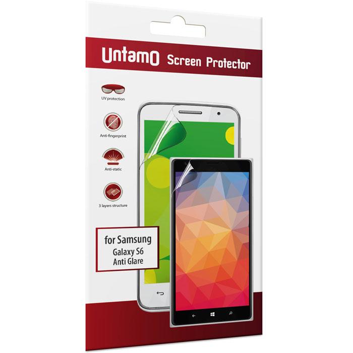 Untamo защитная пленка для Samsung Galaxy S6, матоваяUSAMS6AGМатовая пленка Untamo для Samsung Galaxy S6 обеспечивает высокий уровень защиты вашего устройства. Плотное покрытие уменьшает вероятность повреждения дисплея при ударах или воздействии твердыми предметами. Пленка отражает ультрафиолетовые лучи, что продлевает его срок службы. Антистатические свойства предотвращают появление пыли на поверхности материала, а олеофобное покрытие позволяет обходиться без отпечатков пальцев и разводов на экране. Поглощение световых лучей дает возможность избавиться от бликов. Защитная пленка легко наносится на поверхность дисплея, а при снятии не оставляет следов.