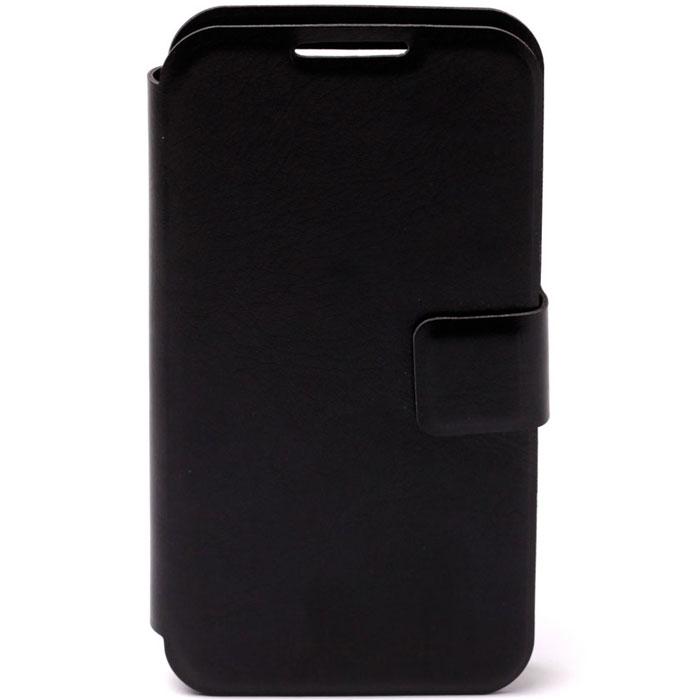 Untamo Essense универсальный чехол для телефонов 4.5-5.5, BlackUESU4.5-5.5BLУниверсальный чехол Untamo Essence для телефонов с диагональю 4.5-5.5 обеспечивает защиту от воздействий разных типов, поэтому на корпусе и экране смартфона не будет сколов и трещин, царапин и потертостей. Также чехол бережет аппарат от пыли, грязи и влаги, при этом обеспечивая владельцу максимальный комфорт. Можно, не открывая чехол, подключить наушники или зарядное устройство, ответить на вызов, сделать музыку громче или тише, а также воспользоваться камерой.