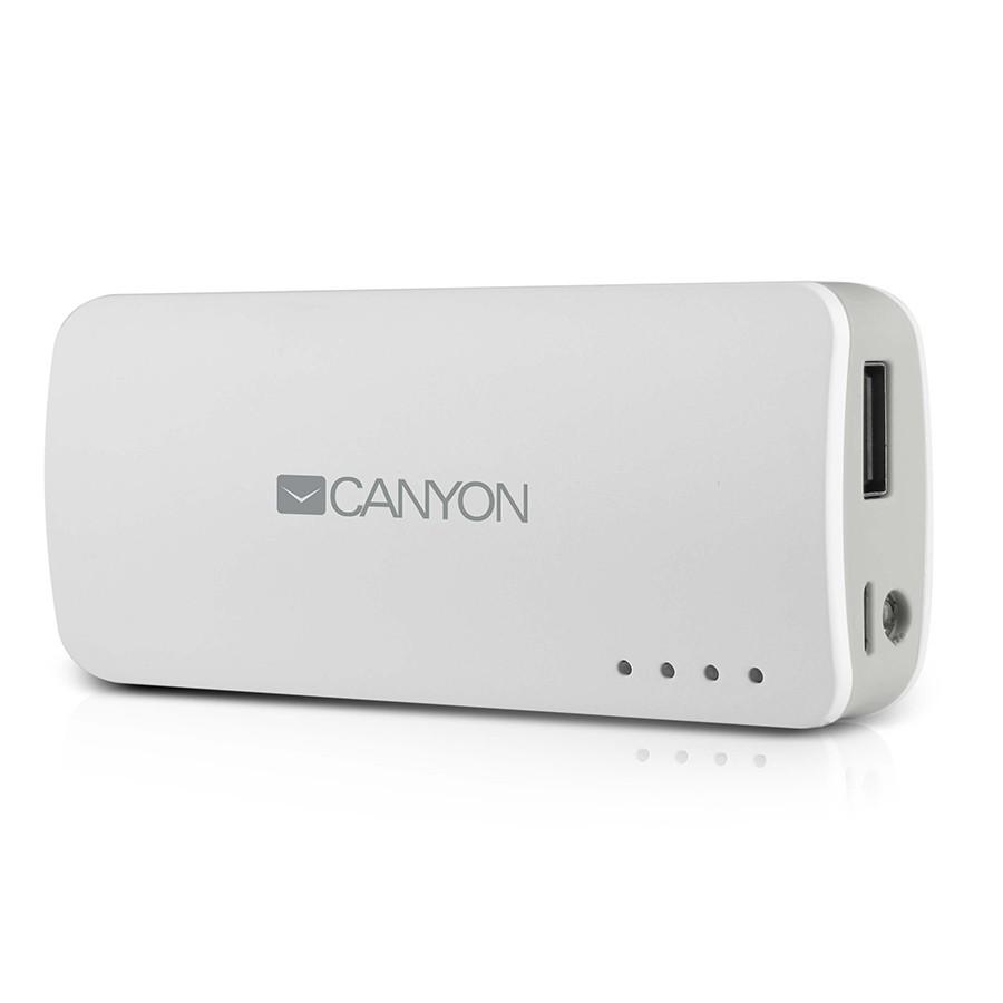 Canyon CNE-CPB44, White внешний аккумулятор