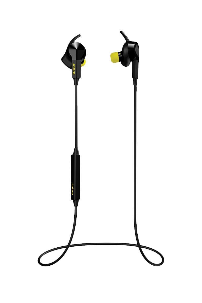 Jabra Sport Pulse, Black Bluetooth гарнитура100-96100000-60ВНУТРИУШНОЙ МОНИТОР СЕРДЕЧНОГО РИТМА Теперь измерение частоты вашего пульса не сложнее надевания наушников. Новое поколение устройств мониторинга сердечного ритма Jabra измеряет частоту пульса во внутреннем ухе. Это единственные наушники-вкладыши, обеспечивающие клинический уровень точности измерений. Sport Pulse позаботится о том, чтобы вы тренировались с оптимальной интенсивностью для достижения более высоких показателей. На нашей специальной странице Тренировки с Jabra вы можете узнать, как максимально эффективно использовать Sport Pulse. ДОПОЛНИТЕ СВОЮ ТРЕНИРОВКУ ОТЛИЧНЫМ БЕСПРОВОДНЫМ ЗВУКОМ Тренировки – это свободный полет, так зачем позволять проводам помешать вам? Получите заряд бодрости от любимых композиций в звучании Dolby®. Управляйте воспроизведением музыки, регулируйте уровень громкости и осуществляйте вызовы с помощью быстрого касания наушников. СОЗДАНЫ ДЛЯ ИНТЕНСИВНЫХ ТРЕНИРОВОК Наушники...