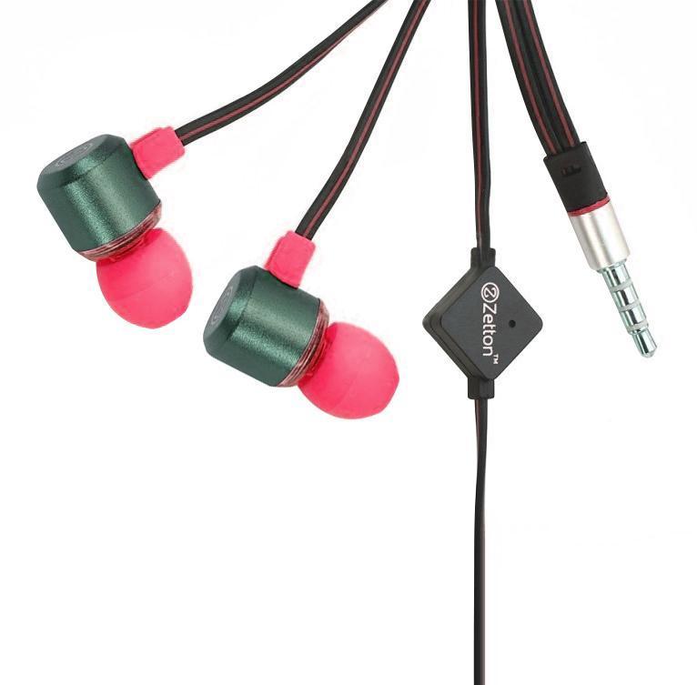 Zetton Triangle, Black Pink гарнитура (ZTLSHSTRI)ZTLSHSTRIBPСтерео гарнитура предназначена для разговора по телефону без помощи рук и прослушивания музыки. Легкий алюминиевый корпус серого цвета, с пластиковой вставкой и цветными резиновыми амбушюрами.