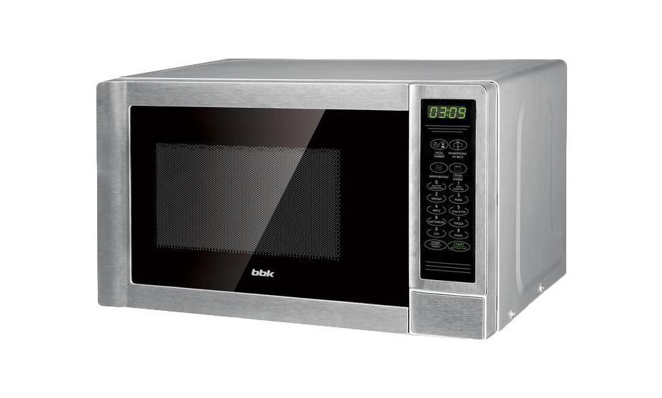 BBK 20MWG-734S/BX микроволновая печь20MWG-734S/BXМикроволновая печь BBK 20MWG-734S/BX обладает функциональностью, которую оценит любая хозяйка. Она подходит для приготовления, подогрева и размораживания продуктов питания. В современном ритме жизни, где экономия времени имеет важное значение, микроволновая печь BBK 20MWG-734S/BX является неотъемлемым атрибутом на кухне.