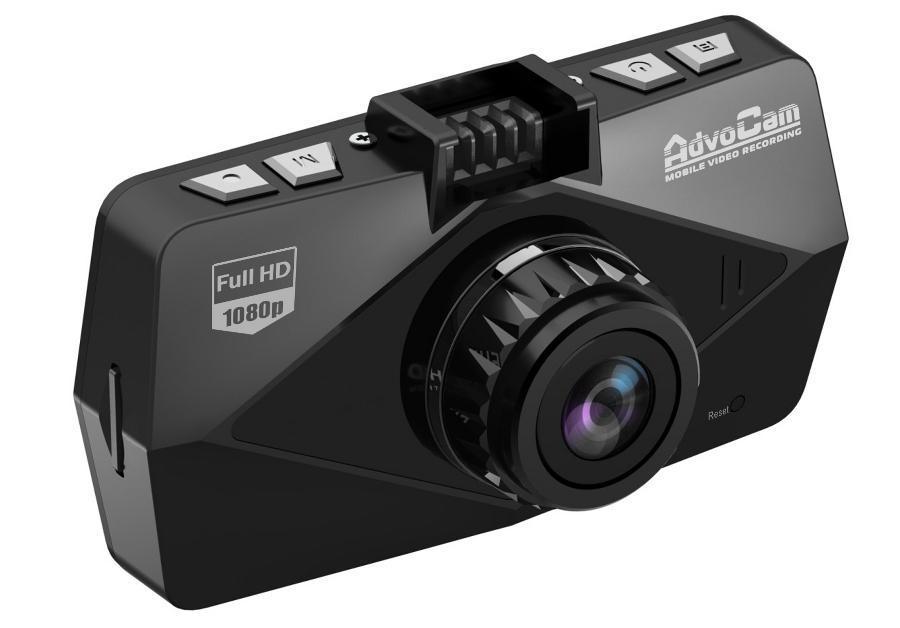 AdvoCam FD, Black GPS видеорегистратор