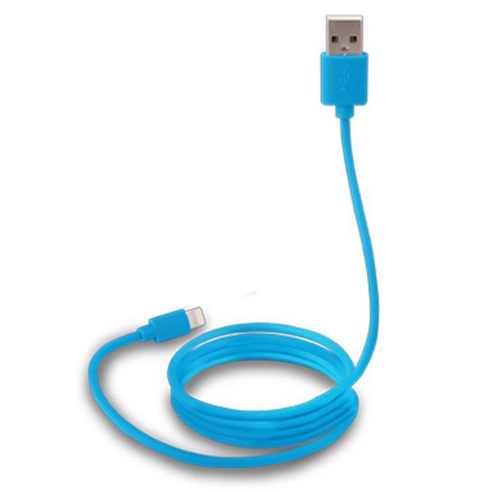Canyon CNS-MFICAB01, Blue дата-кабель Apple LightningCNS-MFICAB01BLДата-кабель Canyon CNS-MFICAB0 служит как для передачи данных, так и для подзарядки устройств с разъемом Lightning (8-pin). Кабель имеет оптимальную длину (1 метр), что позволит удобно расположить подключенное устройство, и предотвратит спутывание кабелей.