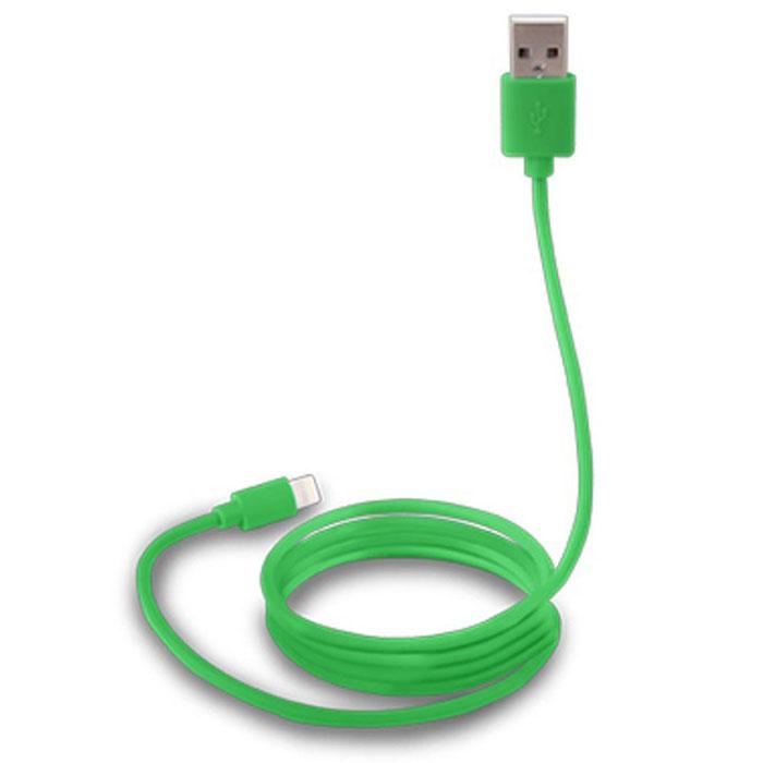 Canyon CNS-MFICAB01, Green дата-кабель Apple LightningCNS-MFICAB01GДата-кабель Canyon CNS-MFICAB0 служит как для передачи данных, так и для подзарядки устройств с разъемом Lightning (8-pin). Кабель имеет оптимальную длину (1 метр), что позволит удобно расположить подключенное устройство, и предотвратит спутывание кабелей.