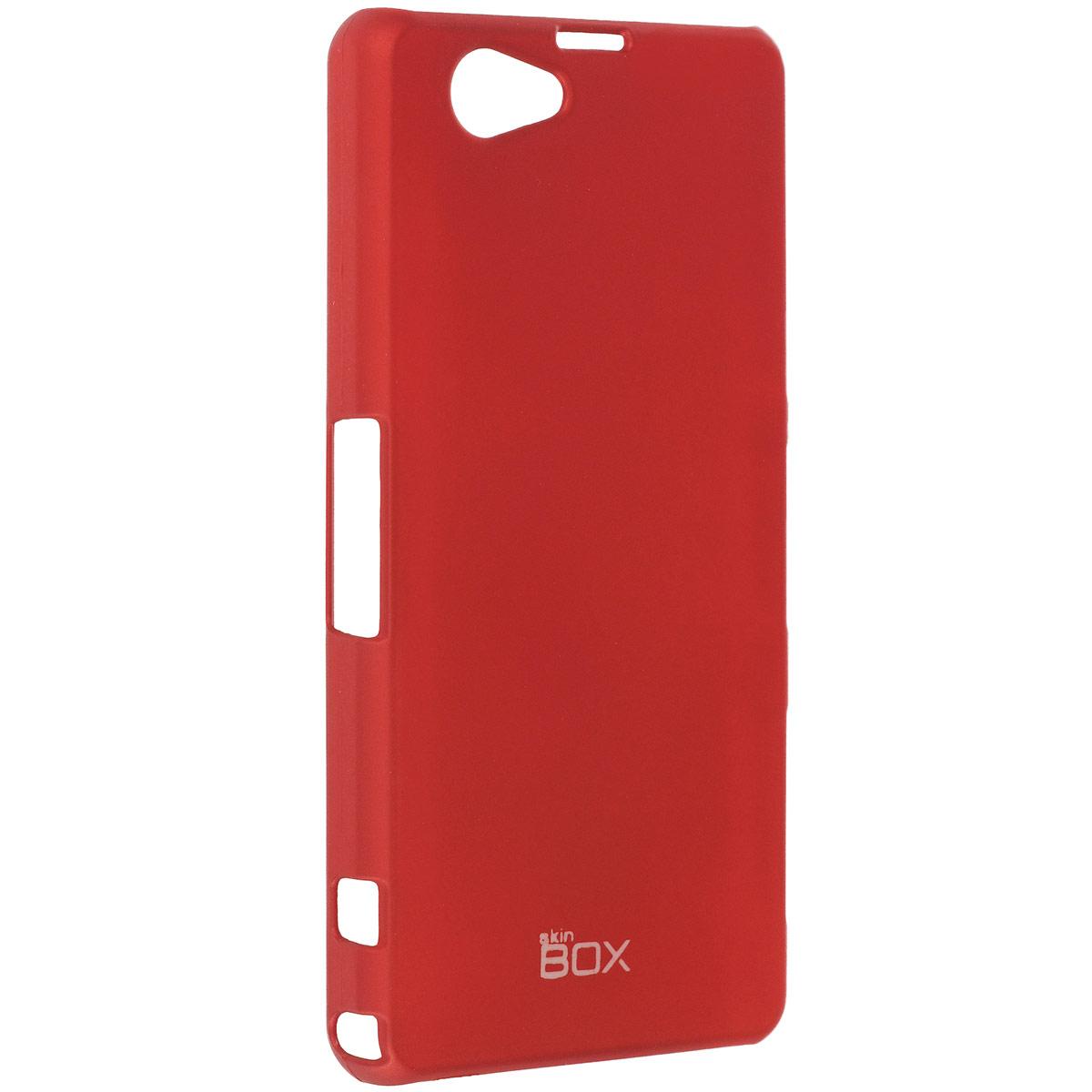 Skinbox Shield 4People чехол для Sony Xperia Z1 Compact, RedT-S-SXZ1C-002Чехол Skinbox Shield 4People для Sony Xperia Z1 Compact предназначен для защиты корпуса смартфона от механических повреждений и царапин в процессе эксплуатации. Имеется свободный доступ ко всем разъемам и кнопкам устройства. В комплект также входит защитная пленка на экран телефона.