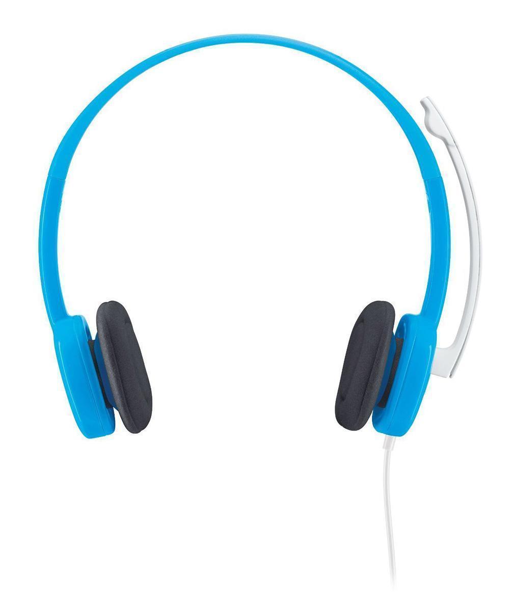 Logitech Stereo Headset H150, Blueberry (981-000368)981-000368Logitech Stereo Headset H150 Эта простая удобная аналоговая гарнитура обеспечивает четкость звука. Звучит заманчиво! Гарнитура обеспечивает насыщенное стереозвучание и идеально подходит для голосового общения и видеозвонков. Громкий и чистый звук Микрофон с функцией шумоподавления отфильтровывает фоновые шумы. Когда вы не используете микрофон, его можно повернуть в сторону. Простая настройка Просто вставьте гарнитуру в 3,5-миллиметровый разъем ввода/вывода своего компьютера, и она готова к работе. Проще не бывает!