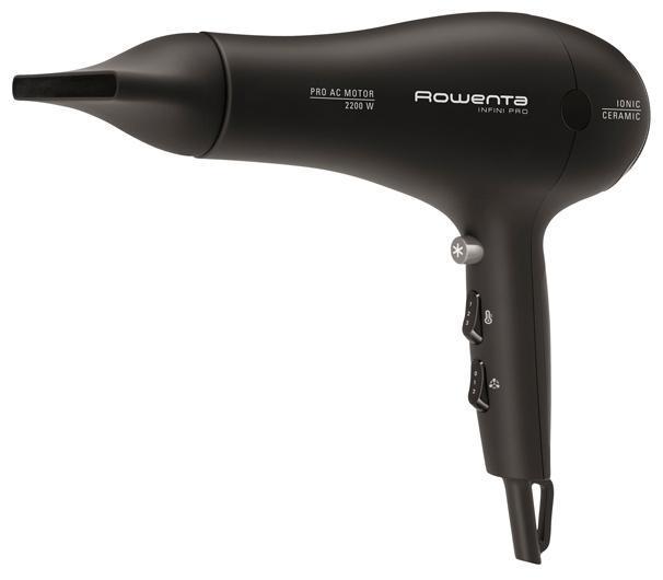 Rowenta CV8653 Infini Pro Volume фенCV8653D0Компактный и легкий фен, с эргономичным дизайном. Удобная ручка позволяет пользоваться феном долгое время не вызывая усталости. Имеет шесть режимов настройки воздушного потока, и мощный мотор в 2200 Вт для быстрой сушки волос.
