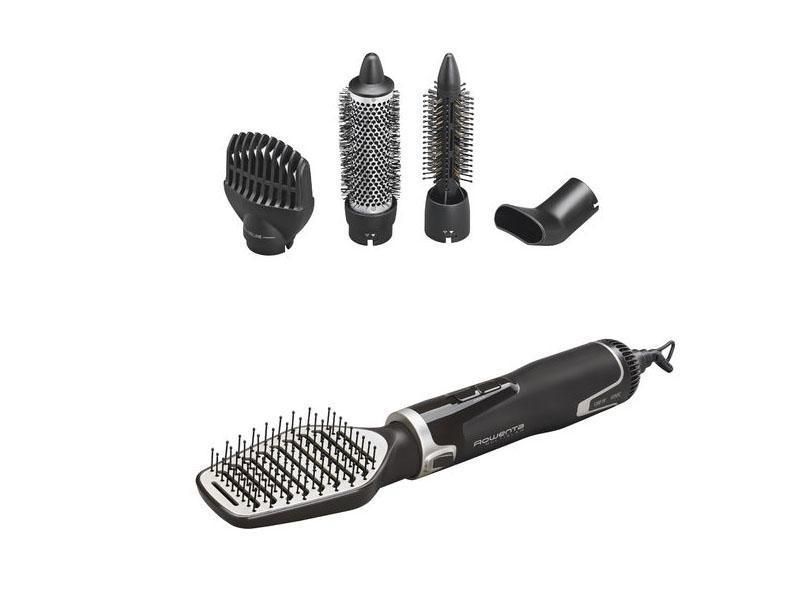 Rowenta CF8361 фен-щеткаCF8361D0Компактный и легкий фен, с эргономичным дизайном. Удобная ручка позволяет пользоваться феном долгое время не вызывая усталости. Возможность одновременно сушить и укладывать волосы дарит безупречныйрезультат, позволяет значительно экономить время и заботиться о здоровье волос .
