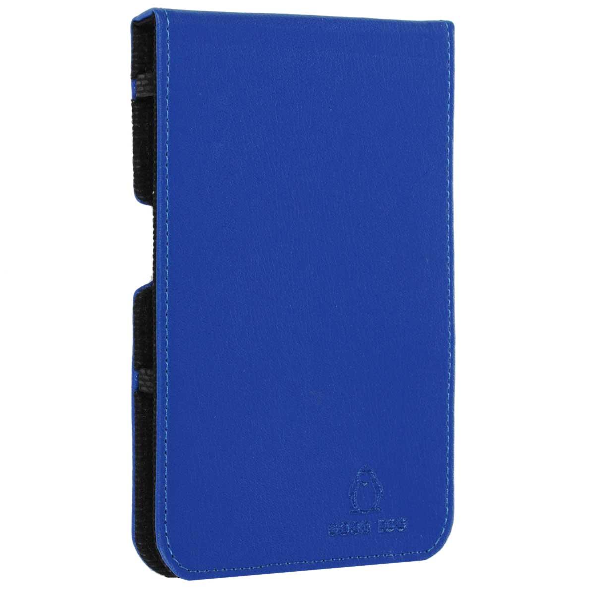 Good Egg Lira чехол для PocketBook 650, BlueGE-PB650LIR2227Чехол GoodEgg Lira для электронной книги PocketBook 650 обеспечивает максимальную защиту экрана при транспортировке благодаря усиленной передней стороне. Он способен надежно защитить устройство от повреждений, повысить его сохранность во время путешествий и сделать более комфортным использование гаджета благодаря свободному доступу ко всем функциональным кнопкам.