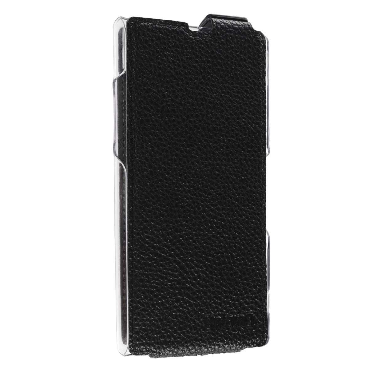 Untamo Classic Flip чехол для Sony Xperia Z1, BlackUFSZ1BLТонкий, но удивительно прочный чехол Untamo Classic Flip. Он обеспечит максимальную защиту устройства от загрязнений, царапин и других мелких повреждений, в том числе сторон и углов смартфона. Это особенно важно при случайном падении устройства.