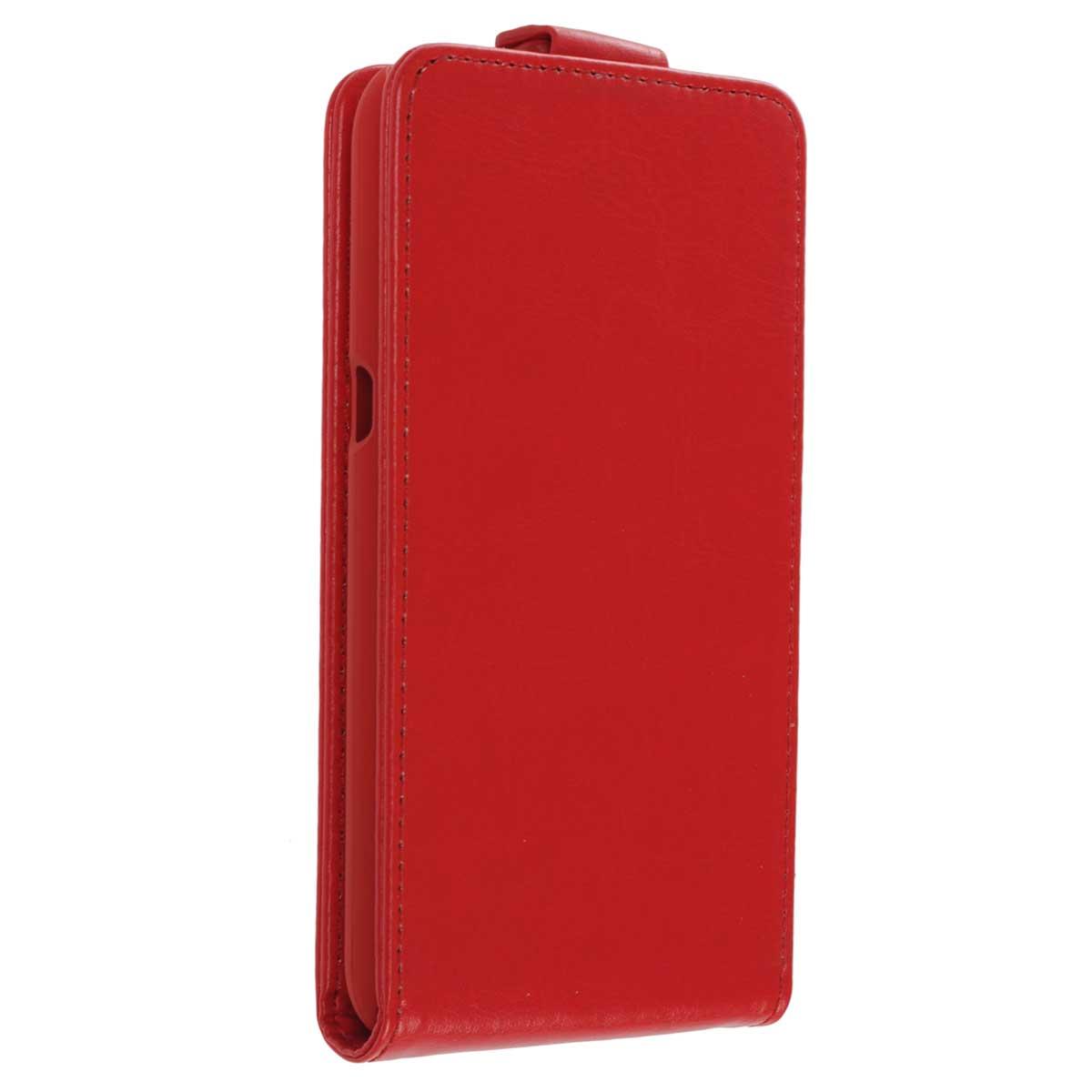 Skinbox Flip Case чехол для Sony Xperia E4g, RedT-F-SXE4GЧехол Skinbox Flip Case для Sony Xperia E4g выполнен из высококачественного поликарбоната и экокожи. Он обеспечивает надежную защиту корпуса и экрана смартфона и надолго сохраняет его привлекательный внешний вид. Чехол также обеспечивает свободный доступ ко всем разъемам и клавишам устройства.