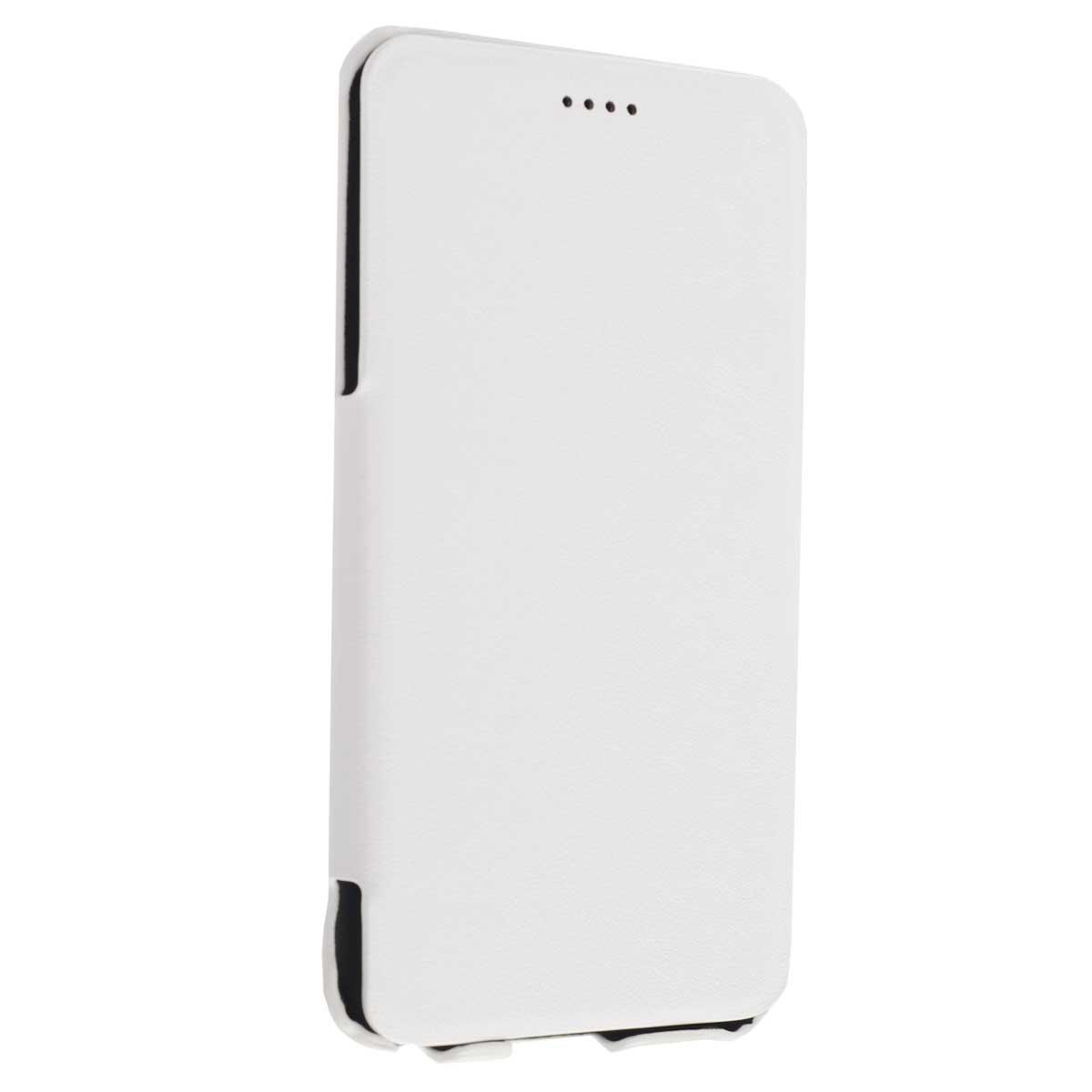 Untamo Rocca чехол для iPhone 6 Plus, WhiteURCBIPHONE6PLWHУльтратонкий чехол Untamo Rocca из эко-кожи с металлической основой. Плотно прилегает к смартфону, формируя жесткий каркас. Подкладка из микрофибры обеспечивает дополнительную защиту устройства от механических повреждений.
