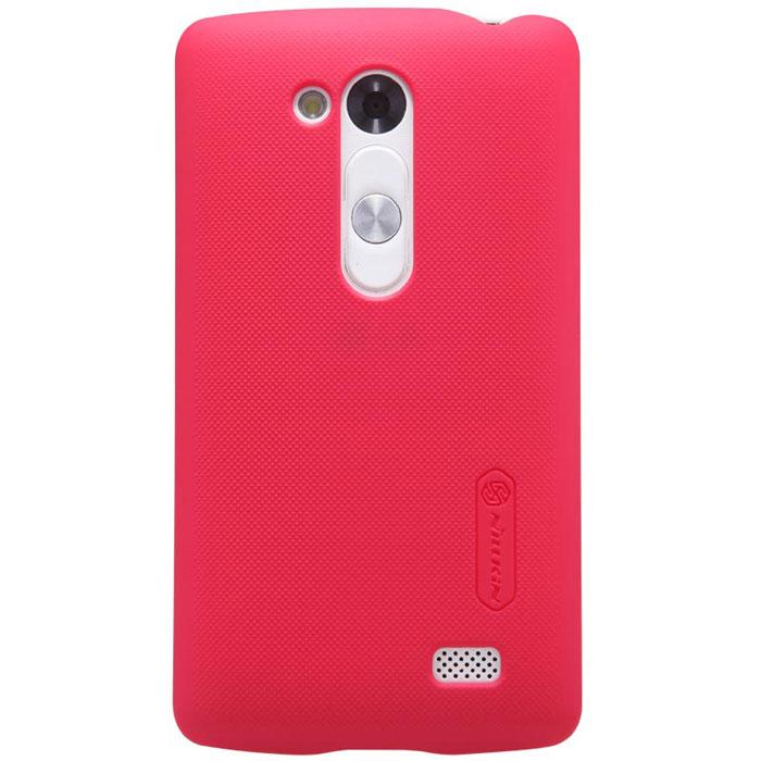 Nillkin Super Frosted Shield чехол для LG D295 (L Fino), RedT-N-LD295-002Чехол Nillkin Super Frosted Shield для LG L Fino D295 обеспечивает надежную защиту корпуса смартфона от механических повреждений и надолго сохраняет его привлекательный внешний вид. Чехол также обеспечивает свободный доступ ко всем разъемам и клавишам устройства.