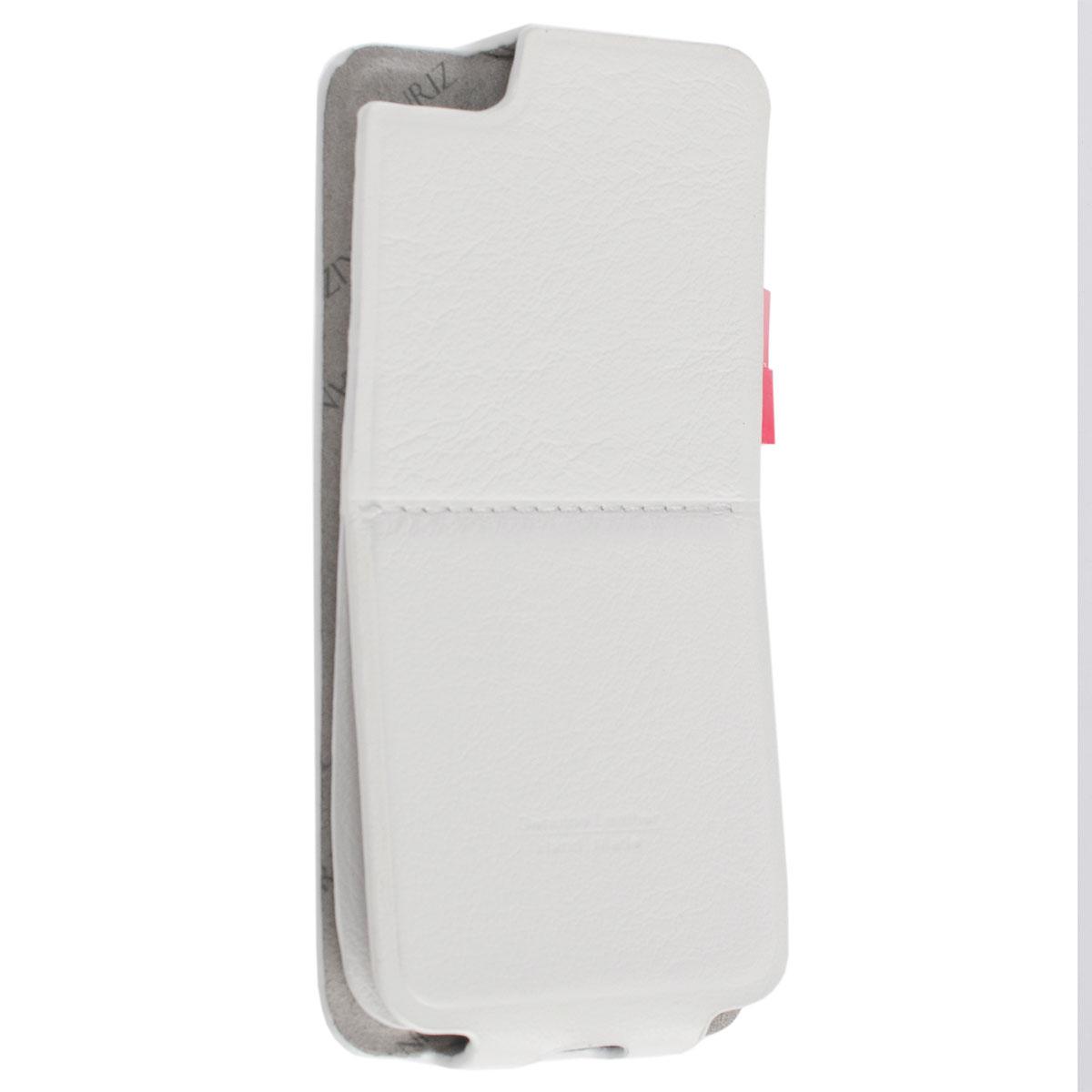 Lanriz Sticker Flip чехол для iPhone 5s, White