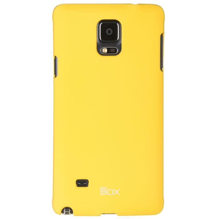 Skinbox Shield 4People чехол для Samsung Galaxy Note 4, YellowT-S-SGN4-002Чехол Skinbox Shield 4People для Samsung Galaxy Note 4 предназначен для защиты корпуса смартфона от механических повреждений и царапин в процессе эксплуатации. Имеется свободный доступ ко всем разъемам и кнопкам устройства. В комплект также входит защитная пленка на экран телефона.