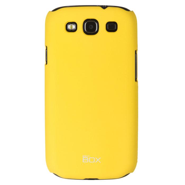 Skinbox Shield 4People чехол для Samsung Galaxy S3, YellowT-S-SGS3-002Чехол Skinbox Shield 4People для Samsung Galaxy S3 предназначен для защиты корпуса смартфона от механических повреждений и царапин в процессе эксплуатации. Имеется свободный доступ ко всем разъемам и кнопкам устройства. В комплект также входит защитная пленка на экран телефона.