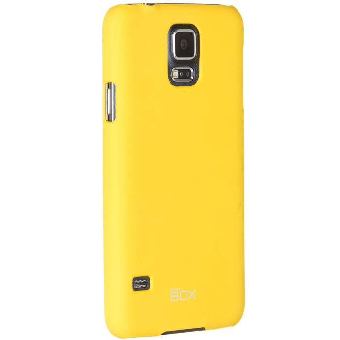 Skinbox Shield 4People чехол для Samsung Galaxy S5 mini, YellowT-S-SG800-002Чехол Skinbox Shield 4People для Samsung Galaxy S5 mini предназначен для защиты корпуса смартфона от механических повреждений и царапин в процессе эксплуатации. Имеется свободный доступ ко всем разъемам и кнопкам устройства.