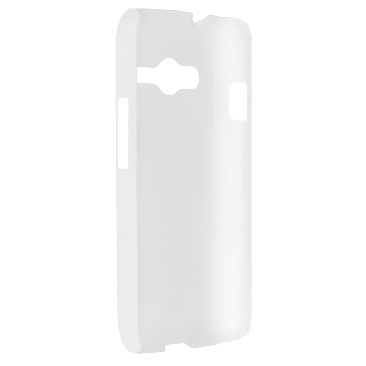 Skinbox Shield 4People чехол для Samsung SM-G313H Galaxy Ace 4 Lite, WhiteT-S-SSMG313H-002Чехол Skinbox Shield 4People для Samsung Galaxy Ace 4 Lite предназначен для защиты корпуса смартфона от механических повреждений и царапин в процессе эксплуатации. Имеется свободный доступ ко всем разъемам и кнопкам устройства. В комплект также входит защитная пленка на экран телефона.