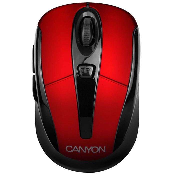 Canyon CNR-MSOW06, Red мышьCNR-MSOW06RНасладитесь свободой, работая на ноутбуке или ПК с беспроводной мышью Canyon CNR-MSOW06. Это отличное решение, чтобы избежать нагромождения проводов на вашем столе. Она предлагает вам передовые лазерные технологии 2,4 ГГц и переключаемое разрешение до 1600 dpi для впечатляющей производительности. Мышь имеет уникальный встроенный отсек для хранения мини USB-ресивера. Она обладает эргономичным и компактным дизайном для удобной навигации, высокой точностью управления движением и плавностью. Мышь также совместима с операционной системой Microsoft Windows 7.