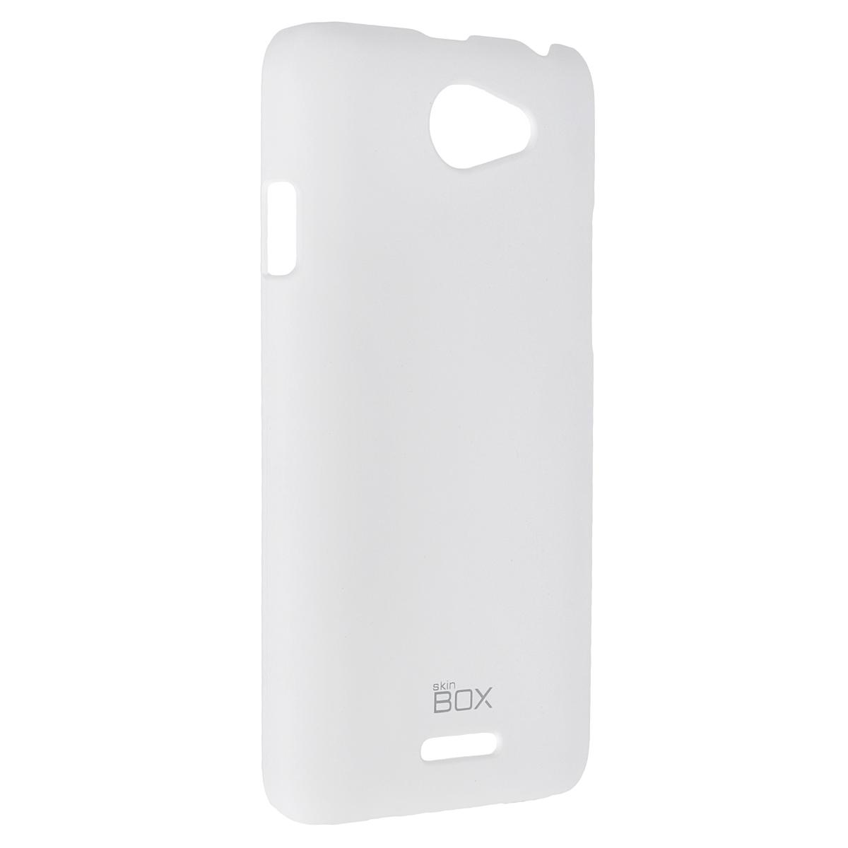 Skinbox Shield 4People чехол для HTC Desire 516, WhiteT-S-HD516-002Чехол Skinbox Shield 4People для HTC Desire 516 предназначен для защиты корпуса смартфона от механических повреждений и царапин в процессе эксплуатации. Имеется свободный доступ ко всем разъемам и кнопкам устройства. В комплект также входит защитная пленка на экран телефона.