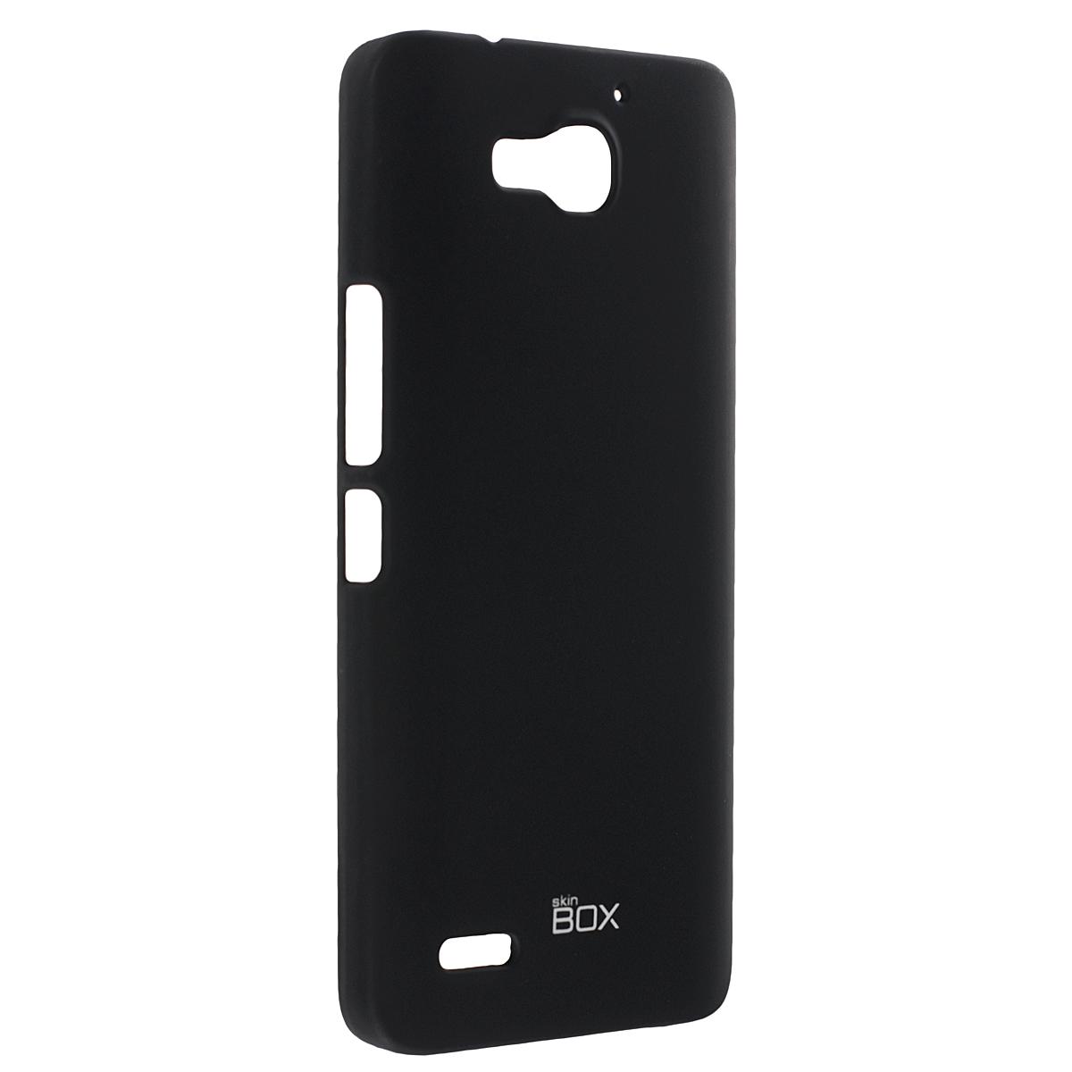Skinbox Shield 4People чехол для Huawei Honor 3X, BlackT-S-HH3X-002Чехол Skinbox Shield 4People для Huawei Honor 3X предназначен для защиты корпуса смартфона от механических повреждений и царапин в процессе эксплуатации. Имеется свободный доступ ко всем разъемам и кнопкам устройства. В комплект также входит защитная пленка на экран телефона.