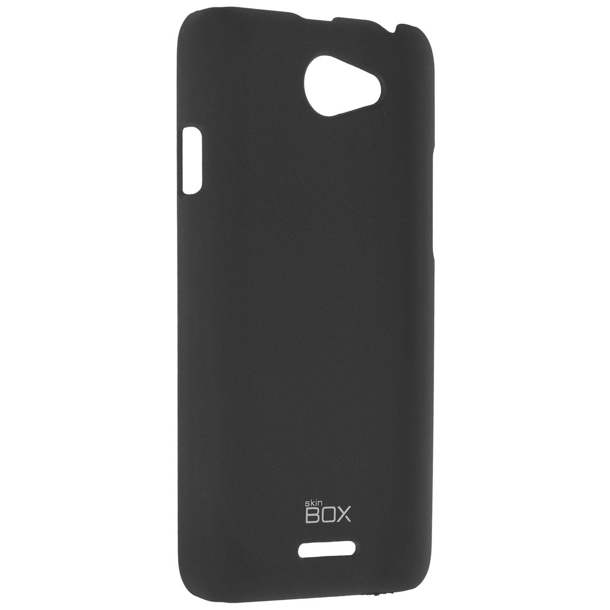 Skinbox Shield 4People чехол для HTC Desire 820, BlackT-S-HD820-002Чехол Skinbox Shield 4People для HTC Desire 820 предназначен для защиты корпуса смартфона от механических повреждений и царапин в процессе эксплуатации. Имеется свободный доступ ко всем разъемам и кнопкам устройства. В комплект также входит защитная пленка на экран телефона.