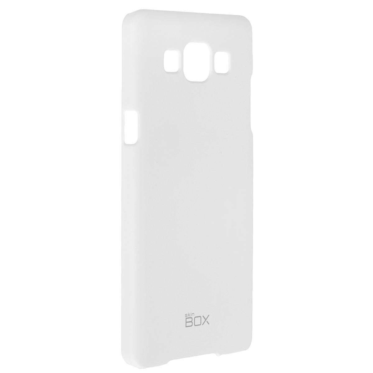 Skinbox Shield 4People чехол для Samsung Galaxy A5, WhiteT-S-SGA500-002Чехол Skinbox Shield 4People для Samsung Galaxy A5 предназначен для защиты корпуса смартфона от механических повреждений и царапин в процессе эксплуатации. Имеется свободный доступ ко всем разъемам и кнопкам устройства. В комплект также входит защитная пленка на экран телефона.