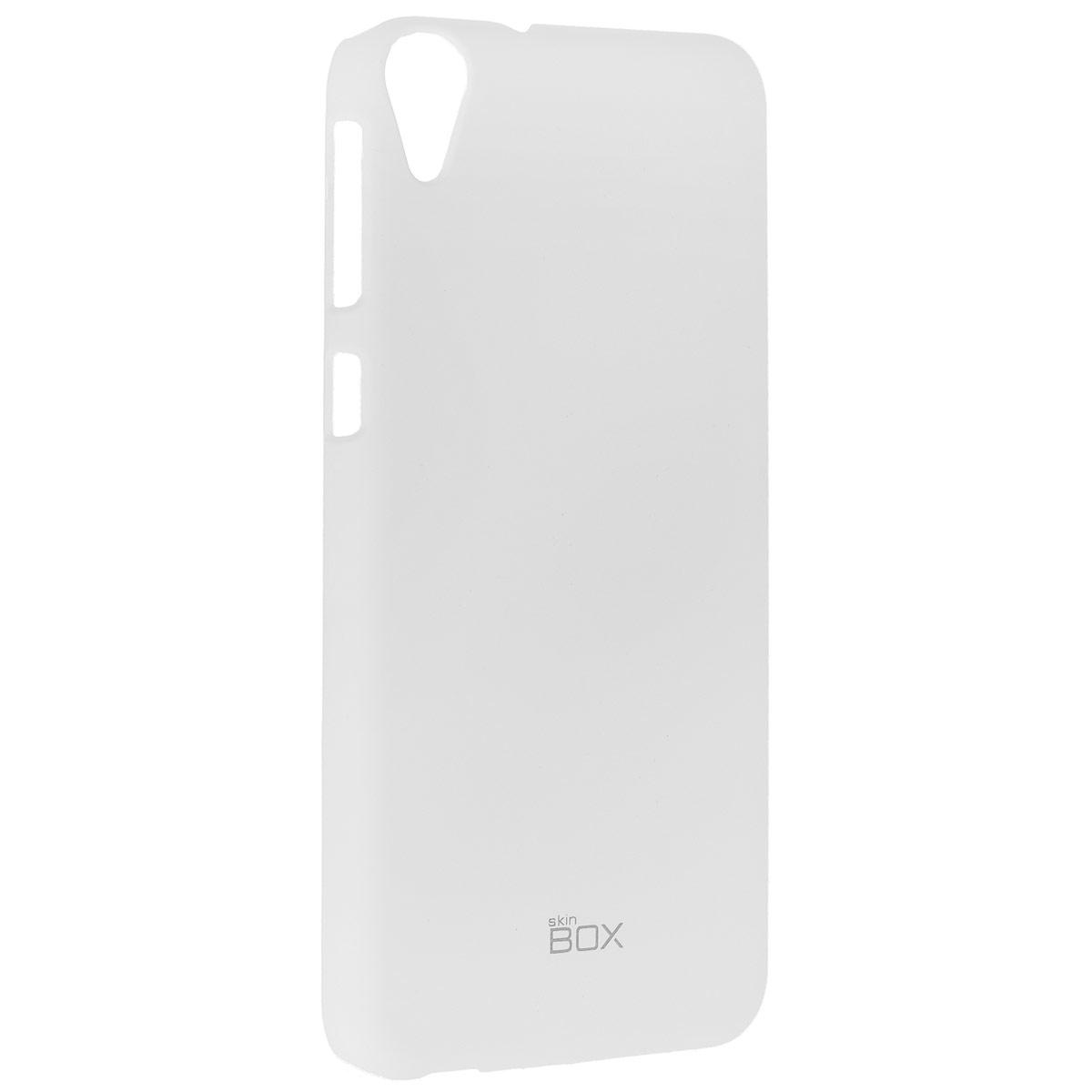 Skinbox Shield 4People чехол для HTC Desire 820, WhiteT-S-HD820-002Чехол Skinbox Shield 4People для HTC Desire 820 предназначен для защиты корпуса смартфона от механических повреждений и царапин в процессе эксплуатации. Имеется свободный доступ ко всем разъемам и кнопкам устройства. В комплект также входит защитная пленка на экран телефона.
