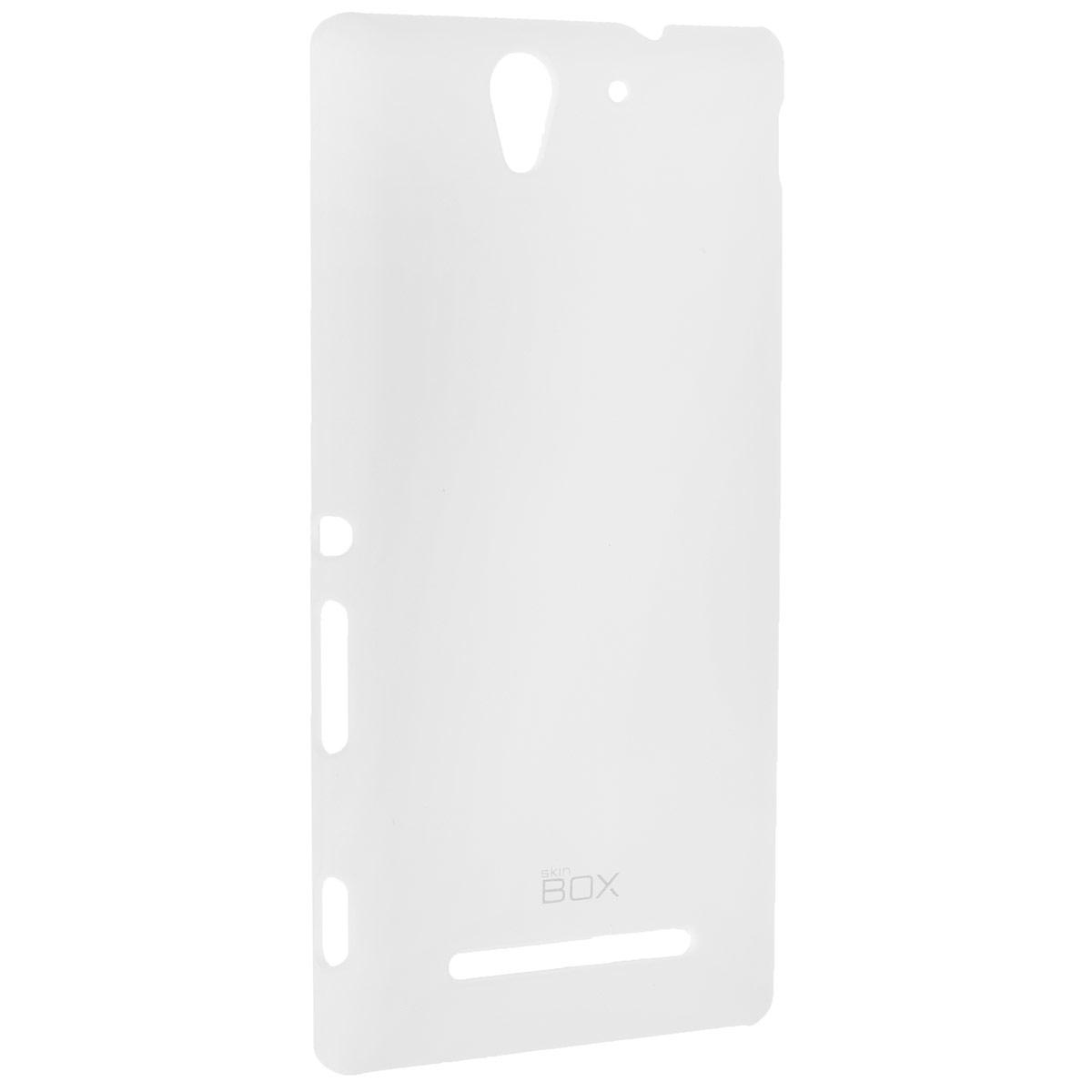 Skinbox Shield 4People чехол для Sony Xperia C3, WhiteT-S-SXС3-002Чехол Skinbox Shield 4People для Sony Xperia C3 предназначен для защиты корпуса смартфона от механических повреждений и царапин в процессе эксплуатации. Имеется свободный доступ ко всем разъемам и кнопкам устройства. В комплект также входит защитная пленка на экран телефона.