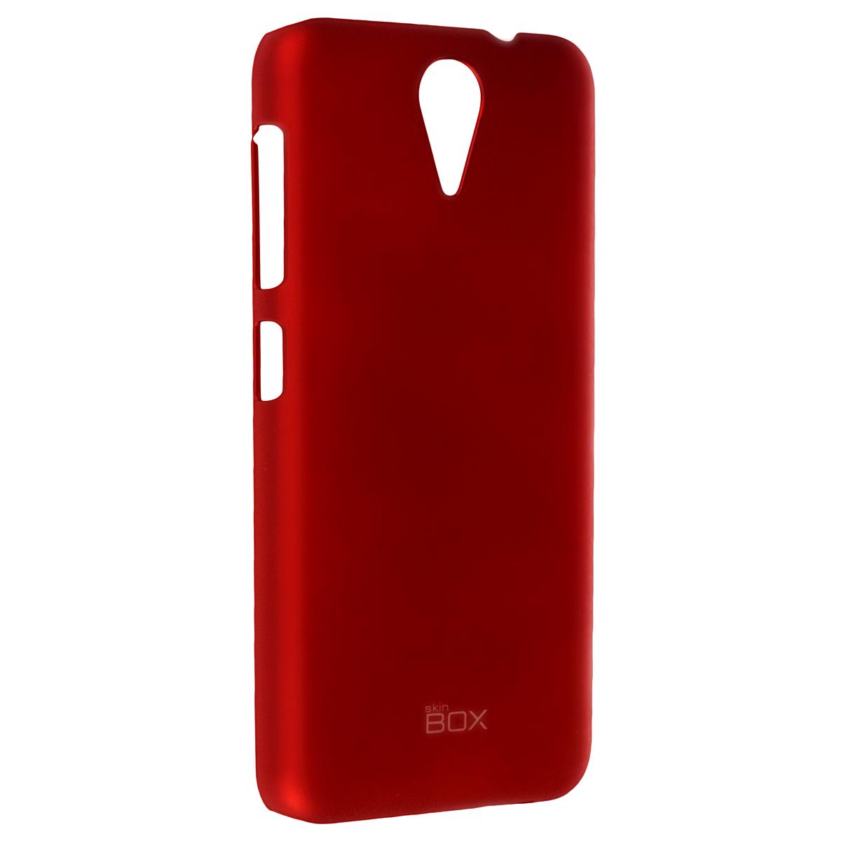 Skinbox Shield 4People чехол для HTC Desire 620, RedT-S-HD620-002Чехол Skinbox Shield 4People для HTC Desire 620 предназначен для защиты корпуса смартфона от механических повреждений и царапин в процессе эксплуатации. Имеется свободный доступ ко всем разъемам и кнопкам устройства. В комплект также входит защитная пленка на экран телефона.
