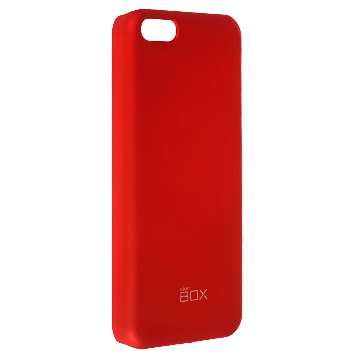 Skinbox Shield 4People чехол для Apple iPhone 5c, RedT-S-AiPhone5C-002Чехол Skinbox Shield 4People для Apple iPhone 5c предназначен для защиты корпуса смартфона от механических повреждений и царапин в процессе эксплуатации. Имеется свободный доступ ко всем разъемам и кнопкам устройства. В комплект также входит защитная пленка на экран телефона.