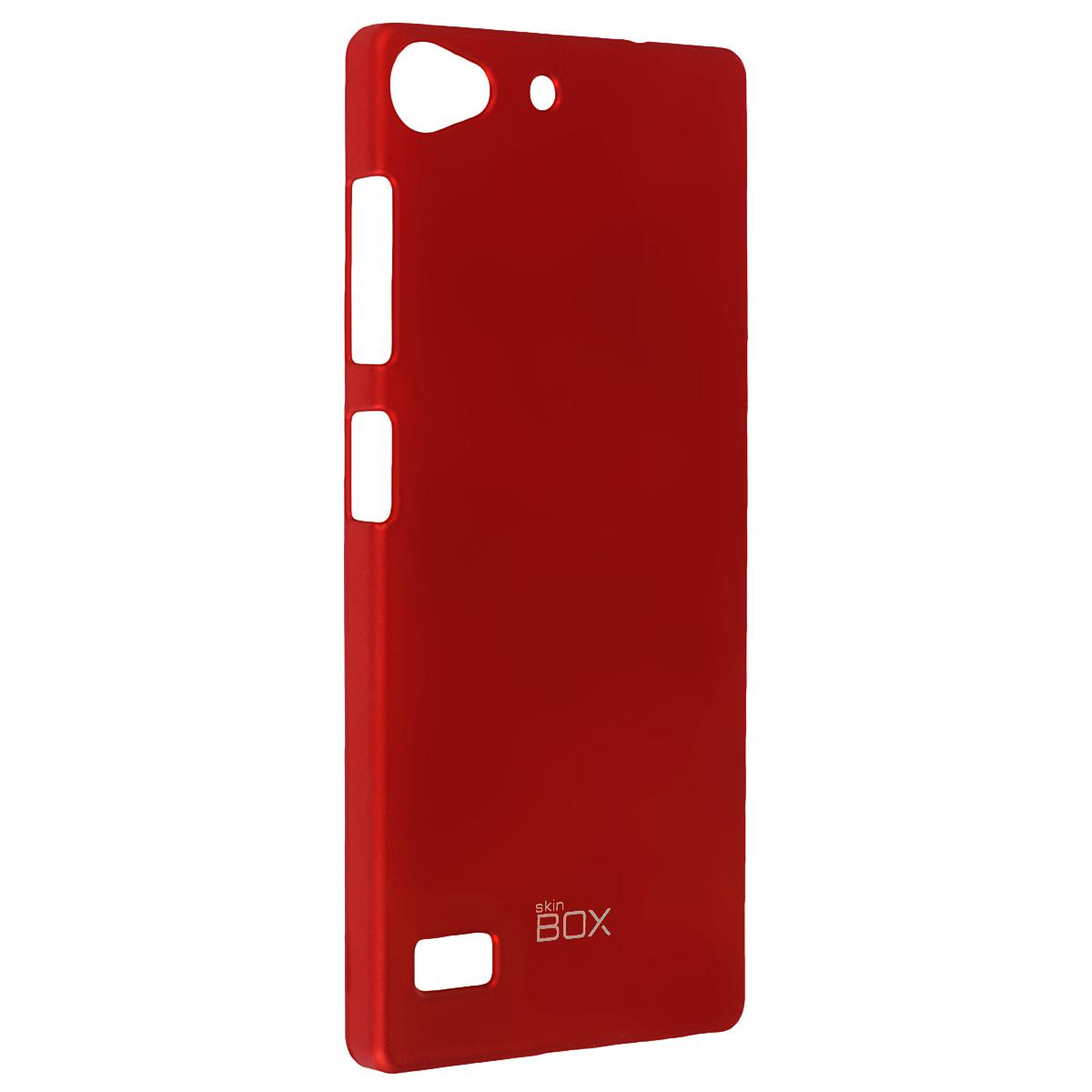 Skinbox Shield 4People чехол для Lenovo Vibe X2, RedT-S-LVX2-002Чехол Skinbox Shield 4People для Lenovo Vibe X2 предназначен для защиты корпуса смартфона от механических повреждений и царапин в процессе эксплуатации. Имеется свободный доступ ко всем разъемам и кнопкам устройства. В комплект также входит защитная пленка на экран телефона.