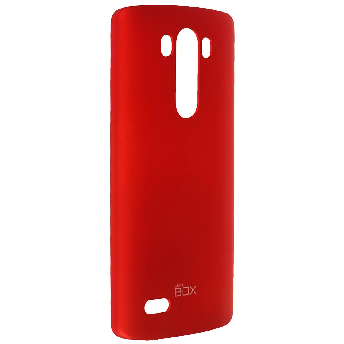 Skinbox Shield 4People чехол для LG G3, RedT-S-LG3-002Чехол Skinbox Shield 4People для LG G3 предназначен для защиты корпуса смартфона от механических повреждений и царапин в процессе эксплуатации. Имеется свободный доступ ко всем разъемам и кнопкам устройства. В комплект также входит защитная пленка на экран телефона.