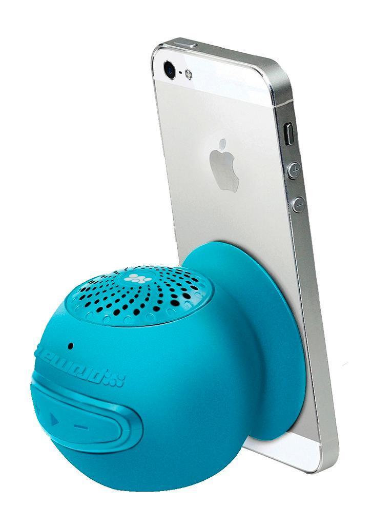 Promate Globo 2, Blue Bluetooth-динамик00007417Беспроводной динамик для мобильных устройств Globo-2 – исключительно полезный аксессуар, который должен быть у каждого пользователя. Специально для этого гаджет поставляется в нескольких вариациях оттенков, поэтому и мужчины, и девушки могут подобрать динамик, который будет соответствовать их стилю. В коллекции есть беспроводные динамики розового, черного, голубого, зеленого оттенков. Яркие, ультрамодные и современные аксессуары для ваших мобильных телефонов работают по Bluetooth® v3.0 и обеспечивает качественное воспроизведение звука кристальной чистоты. Беспроводной динамик имеет удобную форму, компактные размеры, а также присоску для вашего удобства, которая может служить подставкой для телефона. Выбирая этот аксессуар, вы получаете мини-колонку, имеющую удобные кнопки для управления музыкой и звонками, и получаете возможность наслаждаться любимыми композициями в любом месте, устраивать идиллические вечера под безупречные звуки романтических...