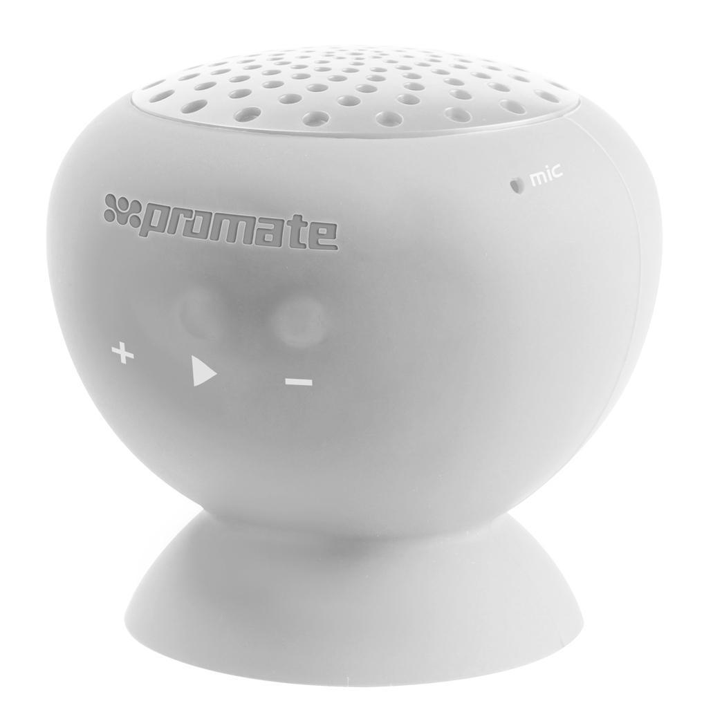 Promate Globo, White Bluetooth-динамик00007414Хотите, чтобы все вокруг были с Вами на одной волне? Слушали одну и ту же музыку? Портативный динамик Globo наполнит мир вокруг Вас любимой музыкой. С его помощью все вокруг будут слушать хорошие песни. Такой беспроводной динамик для мобильных устройств подключается по технологии Bluetooth. Globo – не только удобный аксессуар для прослушивания музыки, но и подставка для Вашего телефона. Кстати, с таким девайсом Вы сможете не только слышать, но и быть услышанными, ведь он оборудован прекрасным микрофоном с шумоподавлеием. Этот беспроводной динамик, несомненно, сделает мир вокруг Вас намного ярче, веселее и музыкальнее.