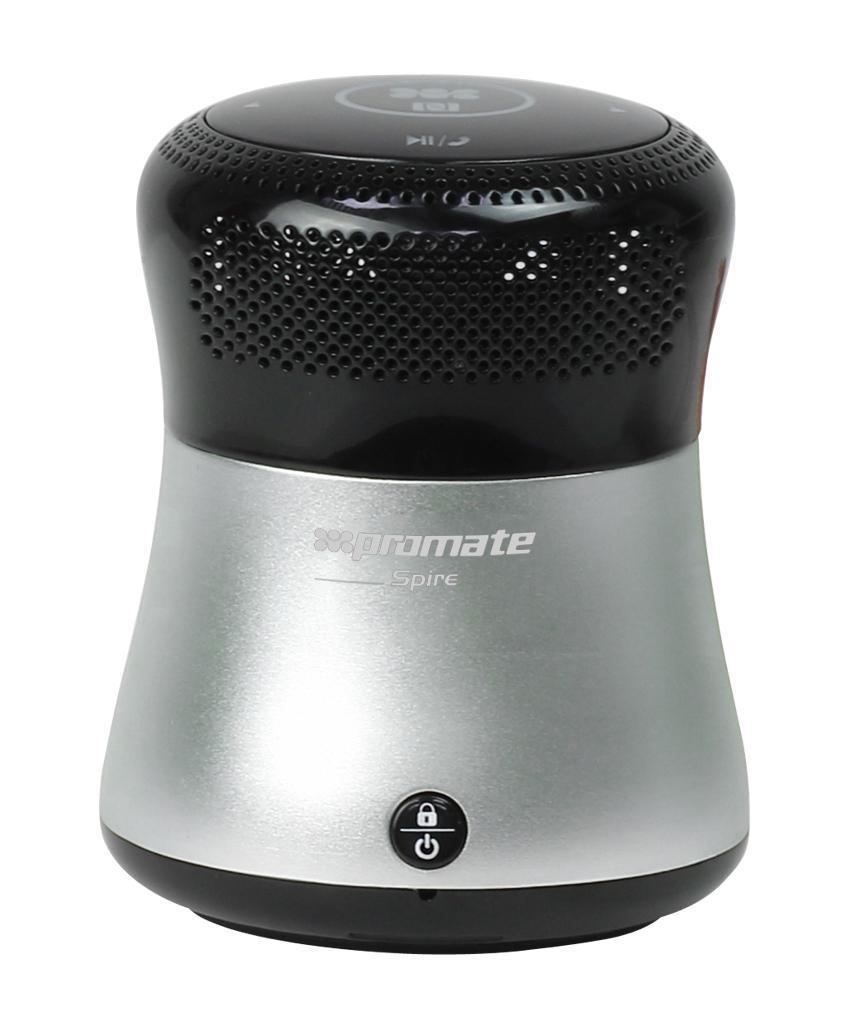 Promate Spire, Silver Bluetooth-динамик
