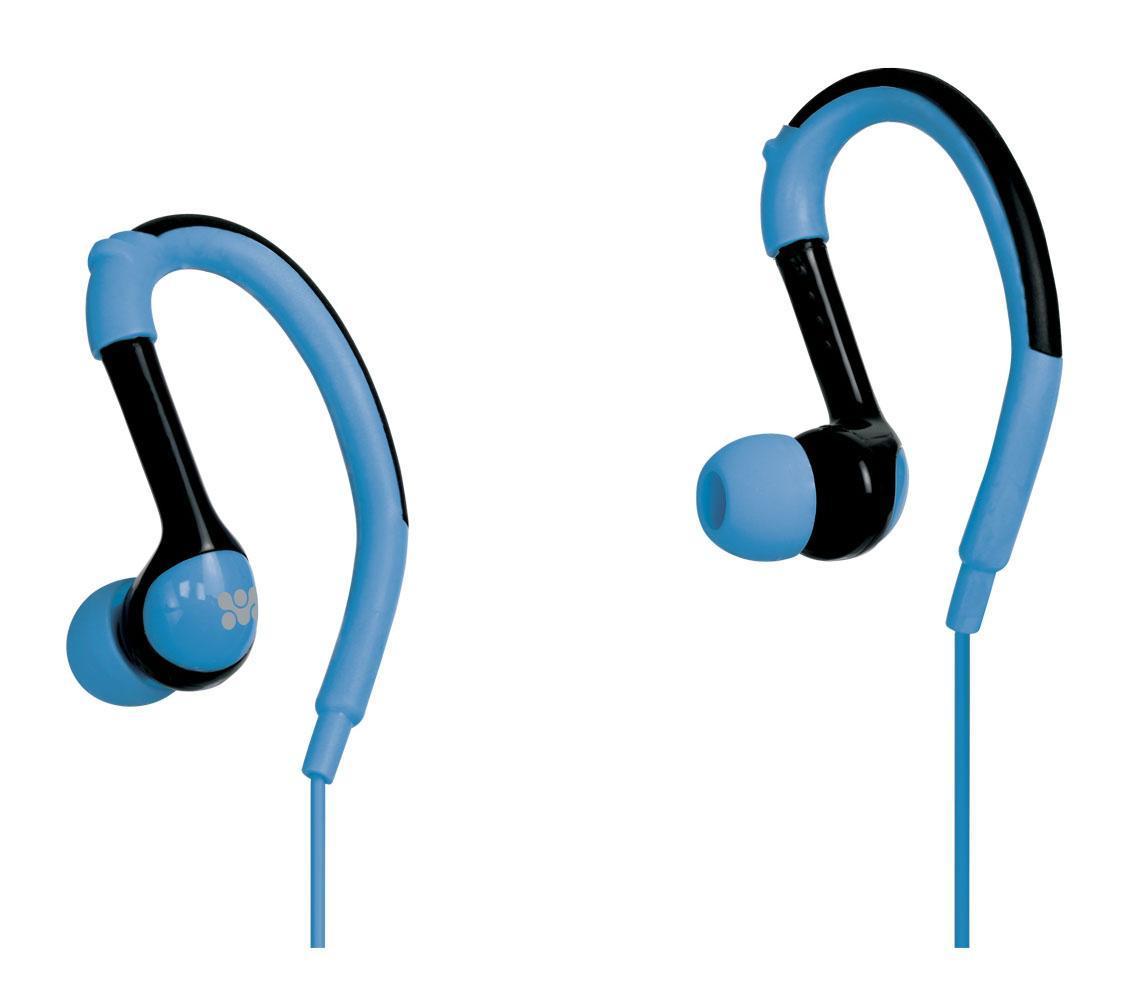 Promate Natty, Blue наушники00007437Специально разработанные заушные крепления, плотное прилегание динамиков в ухе вместе с качественным звуком и возможностью использования наушников как гарнитуры, обеспечивают комфортное использование наушников. Полное прилегание динамиков помогает минимизировать внешние шумы и обеспечивает глубокие басы. Наушники универсальны и совместимы с любым аудио устройством, планшетом или смартфоном. Широкая палитра цветов. Идеально подходят для занятий спортом.