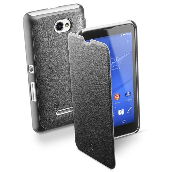Cellular Line Book Essential чехол для Sony Xperia E4, Black (23830)BOOKESSENXPERIAE4KCellular Line Book Essential - качественный защитный чехол для вашего смартфона. Все разъемы и элементы управления открыты и легко доступны.