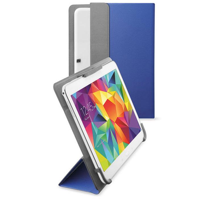 Cellular Line Flexy чехол для планшетов Samsung до 10.5, Blue (23287)FLEXYSAM101BЧехол Cellular Line Flexy предназначен для планшетов Samsung диагональю до 10.5 дюймов. Обеспечивает надежную защиту корпуса и экрана устройства от механических повреждений и надолго сохраняет его привлекательный внешний вид. Чехол также обеспечивает свободный доступ ко всем разъемам и клавишам устройства.