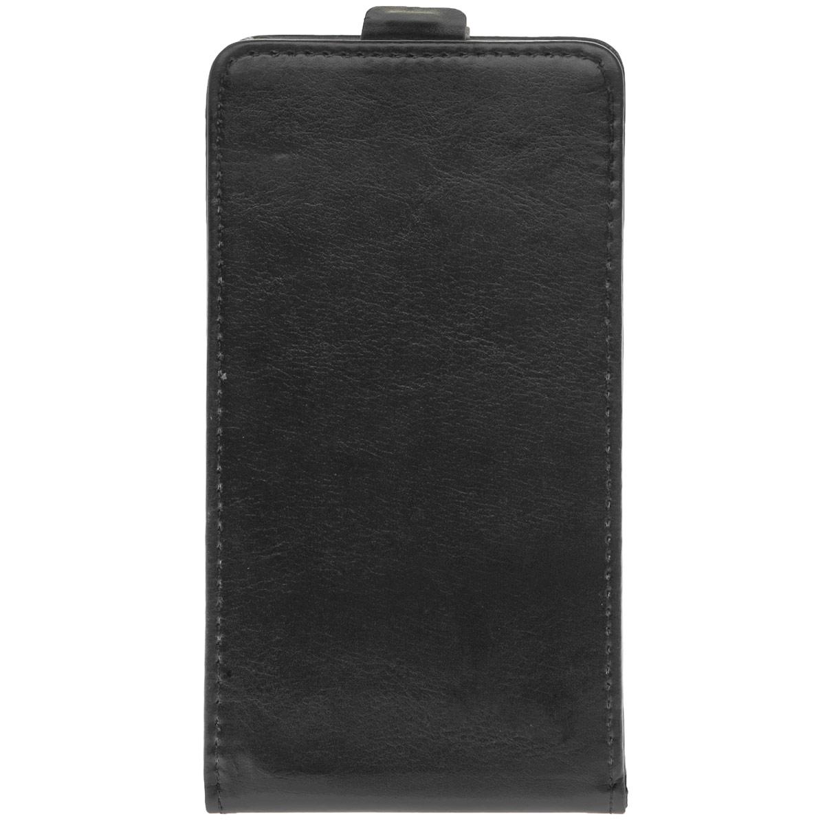 Skinbox Flip Case чехол для Samsung Galaxy A7, BlackT-F-SGA7Чехол Skinbox Flip Case для Samsung Galaxy A7 выполнен из высококачественного поликарбоната и экокожи. Он обеспечивает надежную защиту корпуса и экрана смартфона и надолго сохраняет его привлекательный внешний вид. Чехол также обеспечивает свободный доступ ко всем разъемам и клавишам устройства.