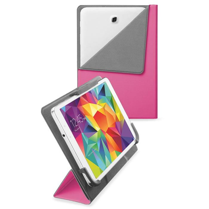 Cellular Line Flexy чехол для планшетов Samsung 7-8.4, Pink (23289)FLEXYSAM80PЧехол Cellular Line Flexy предназначен для планшетов Samsung диагональю 7-8,4 дюймов. Обеспечивает надежную защиту корпуса и экрана устройства от механических повреждений и надолго сохраняет его привлекательный внешний вид. Чехол также обеспечивает свободный доступ ко всем разъемам и клавишам устройства.